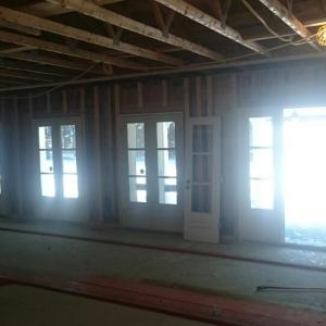 Before and After shot of Windows and Doors