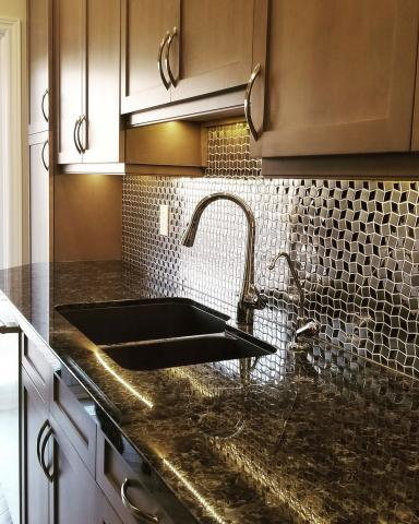Kitchen Counter & Sink